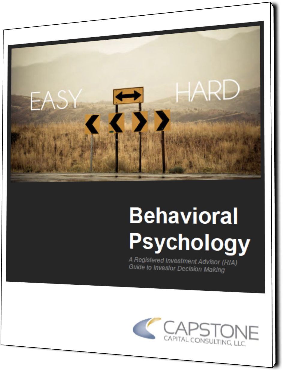 Behavioral Psychology: A Registered Investment advisor (ria) guide to investor decision making